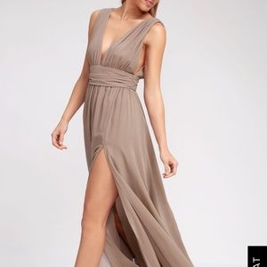 Lulus Heavenly Hies Maxi Dress